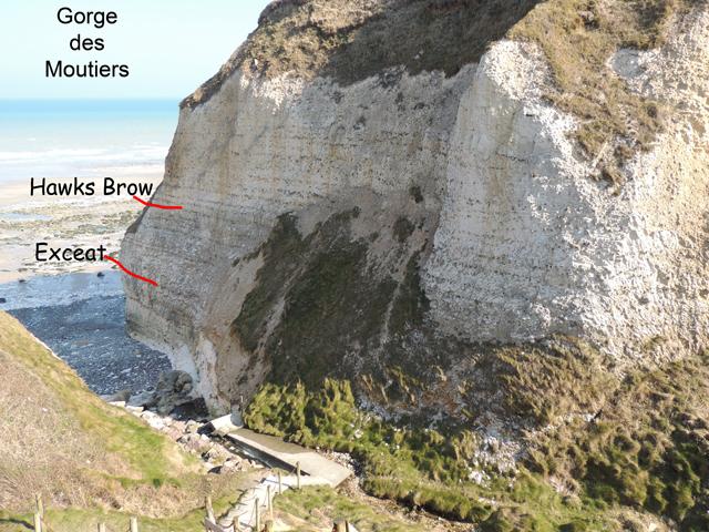 L'escalier de la Gorge des Moutiers