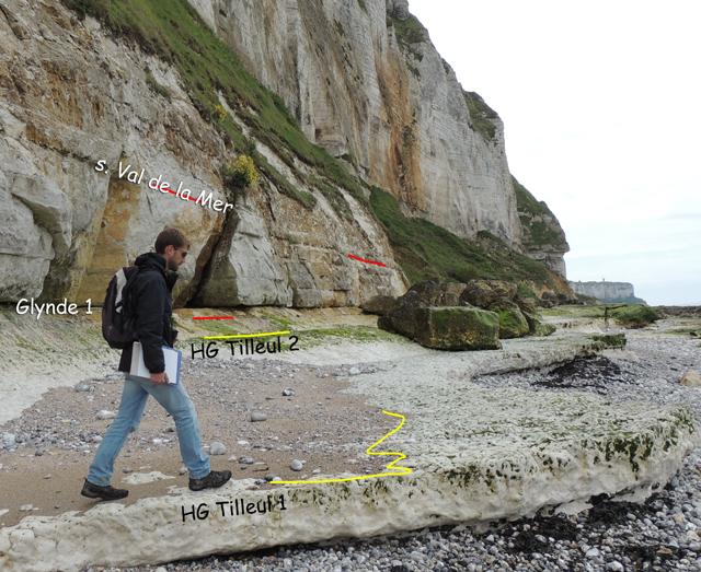 Erosion différentielle du HG Tilleul 1