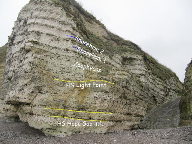 Base de la tranchée