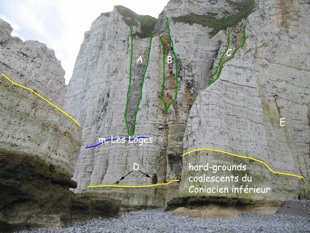 Trouée du Chicard depuis le côté ouest - phénomènes karstiques