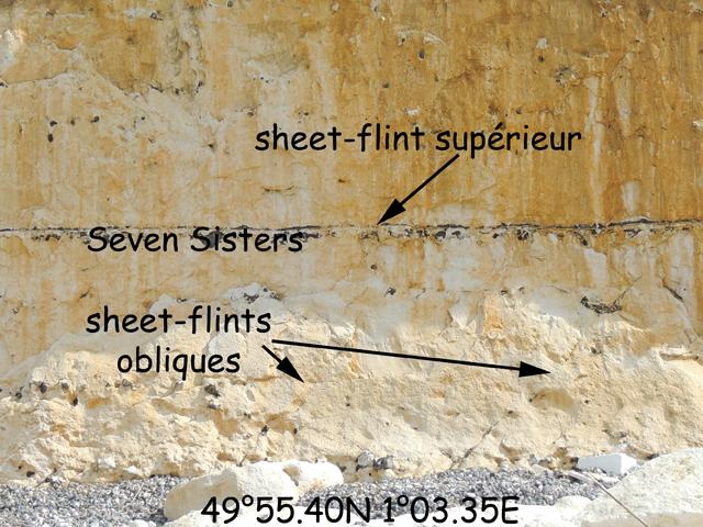Coupe 03.35'E - Le silex Seven Sisters
