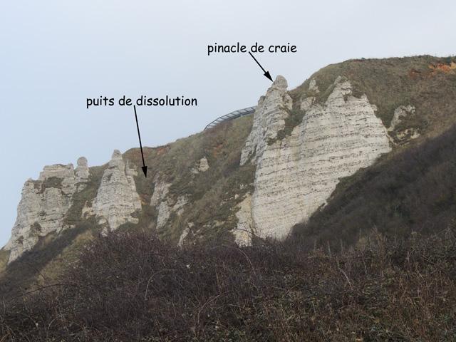 Pinacles et puits