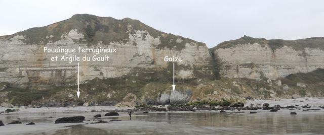 Le Crétacé inférieur de la plage de Saint-Jouin