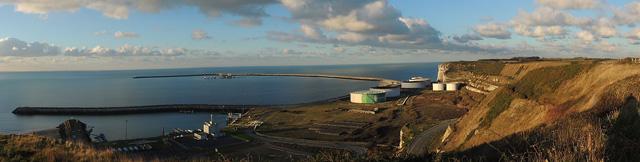 Le Port pétrolier d'Antifer