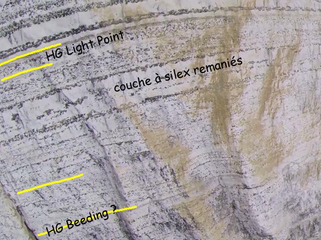 Entre la Manneporte et la Pointe de Valaine -Sous le HG Light Point