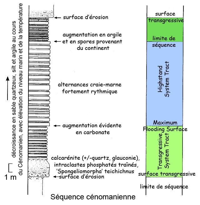 sequence cenomanienne